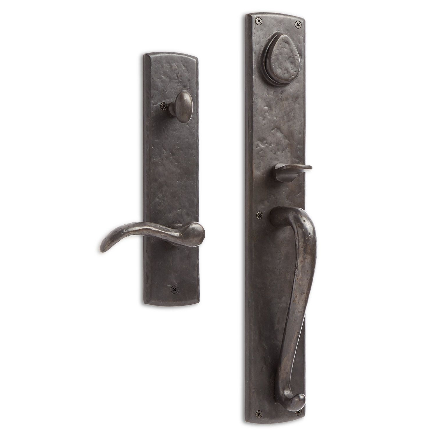 Bullock Solid Bronze Entrance Set with Lever Handle