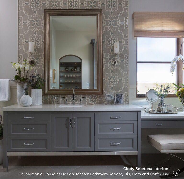 great vanity with makeup areawindow over makeup grey bathroomsmaster bathroomboy