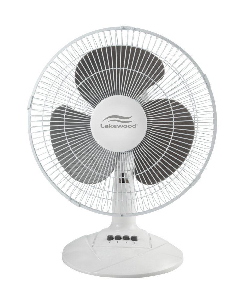 Amazon Com Lakewood Oscillating Table Fan 12 Inch Ldf1210b Wm Home Kitchen Oscillating Fans Table Fan Fan