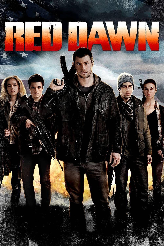 Risultati immagini per RED DAWN ( 2012 ) POSTER