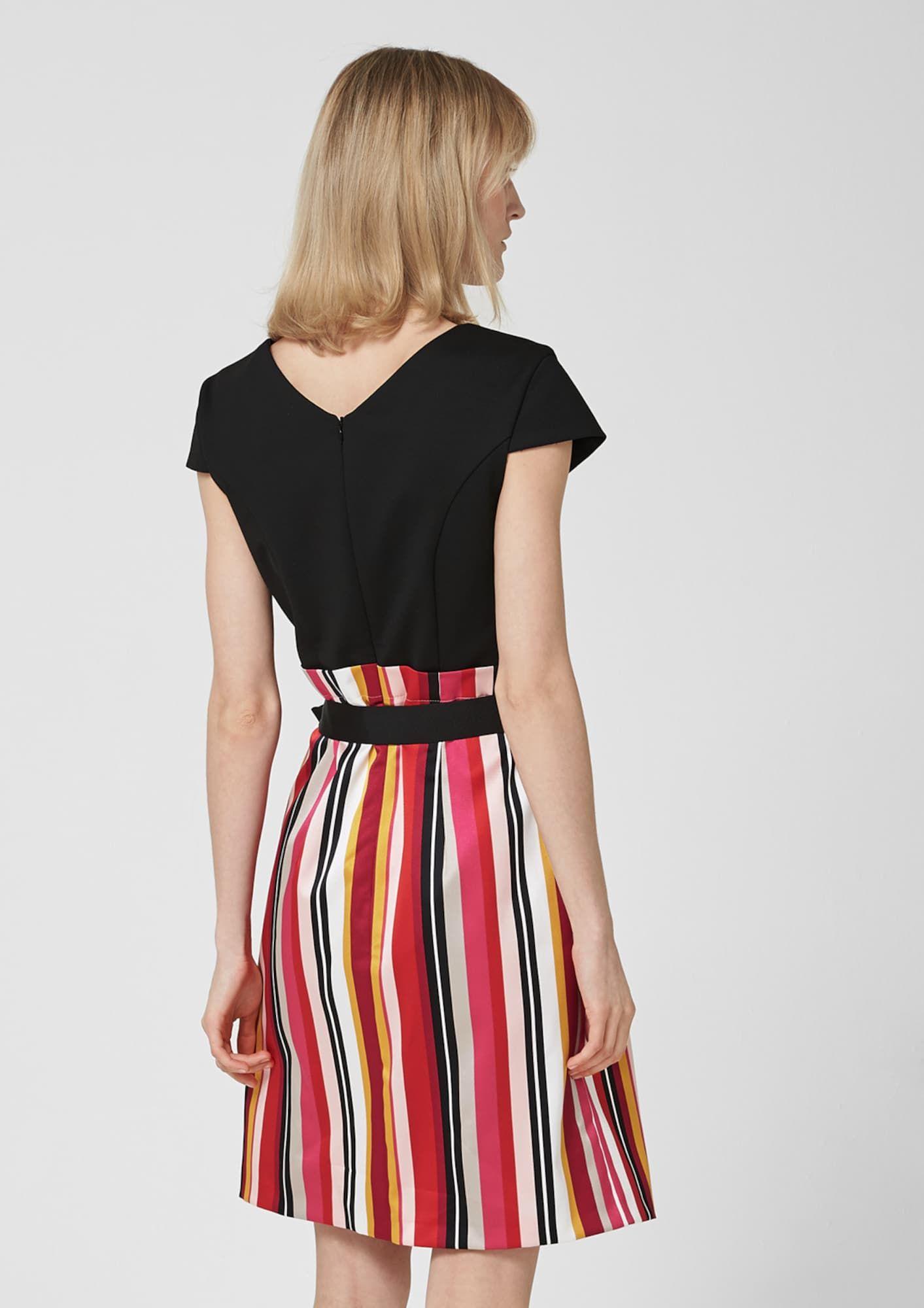 cos платье черное: s. oliver black label kleid gelb