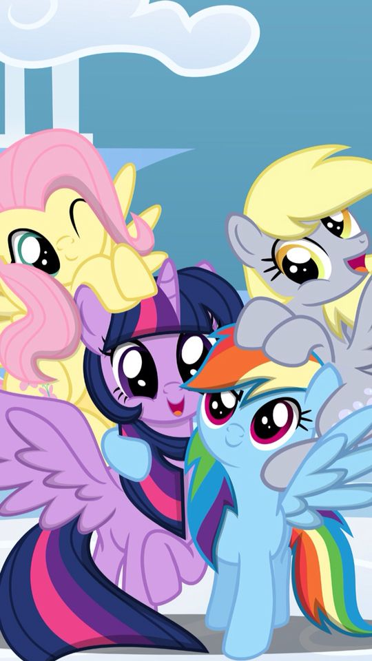 Found on MLP Wallpapers app.