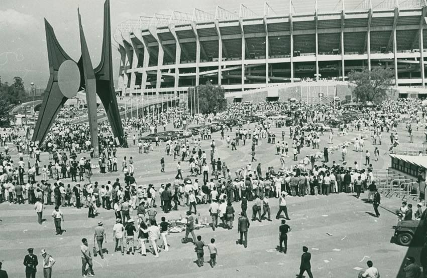 Inauguración estadio Azteca 1966   Lugares hermosos de mexico ...