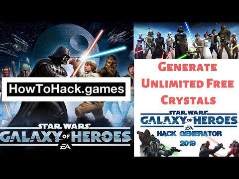 Star Wars Galaxy Of Heroes Hack 2019 get free crystals