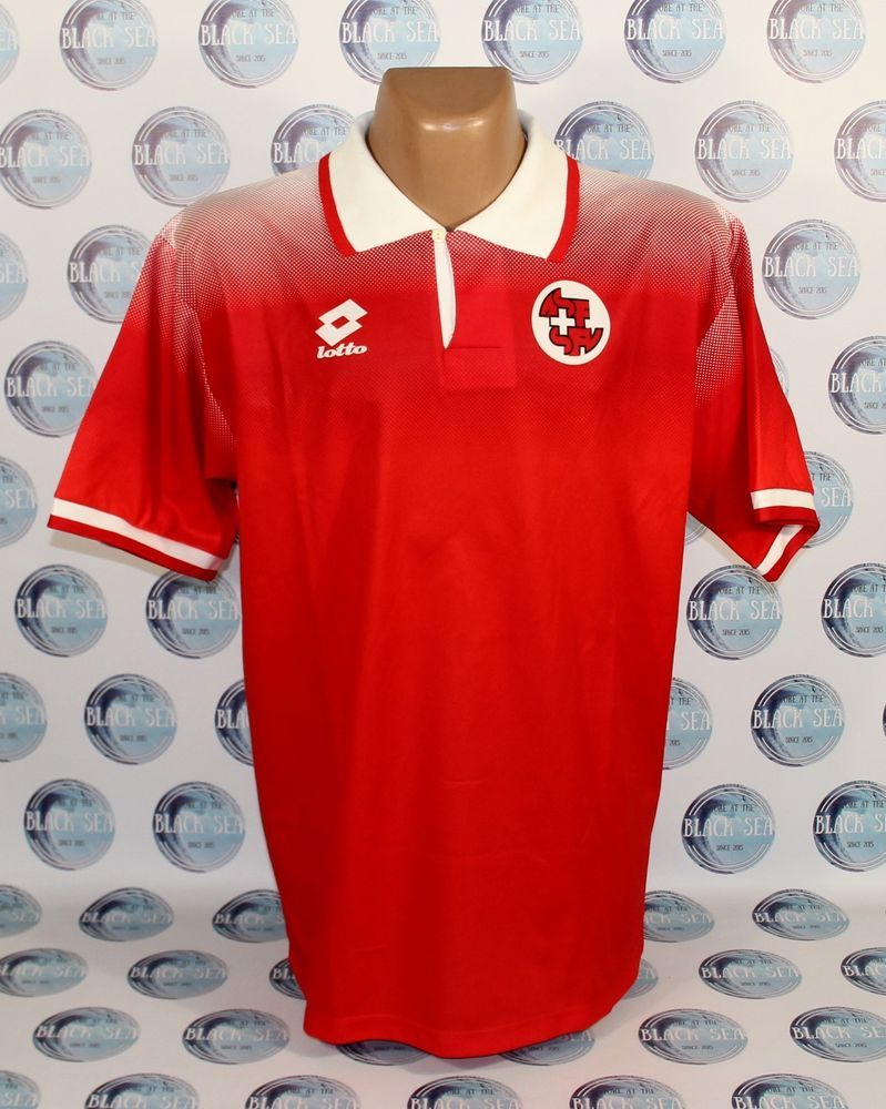 finest selection 634c7 1e547 SWITZERLAND NATIONAL TEAM 1996 1998 HOME FOOTBALL SOCCER ...