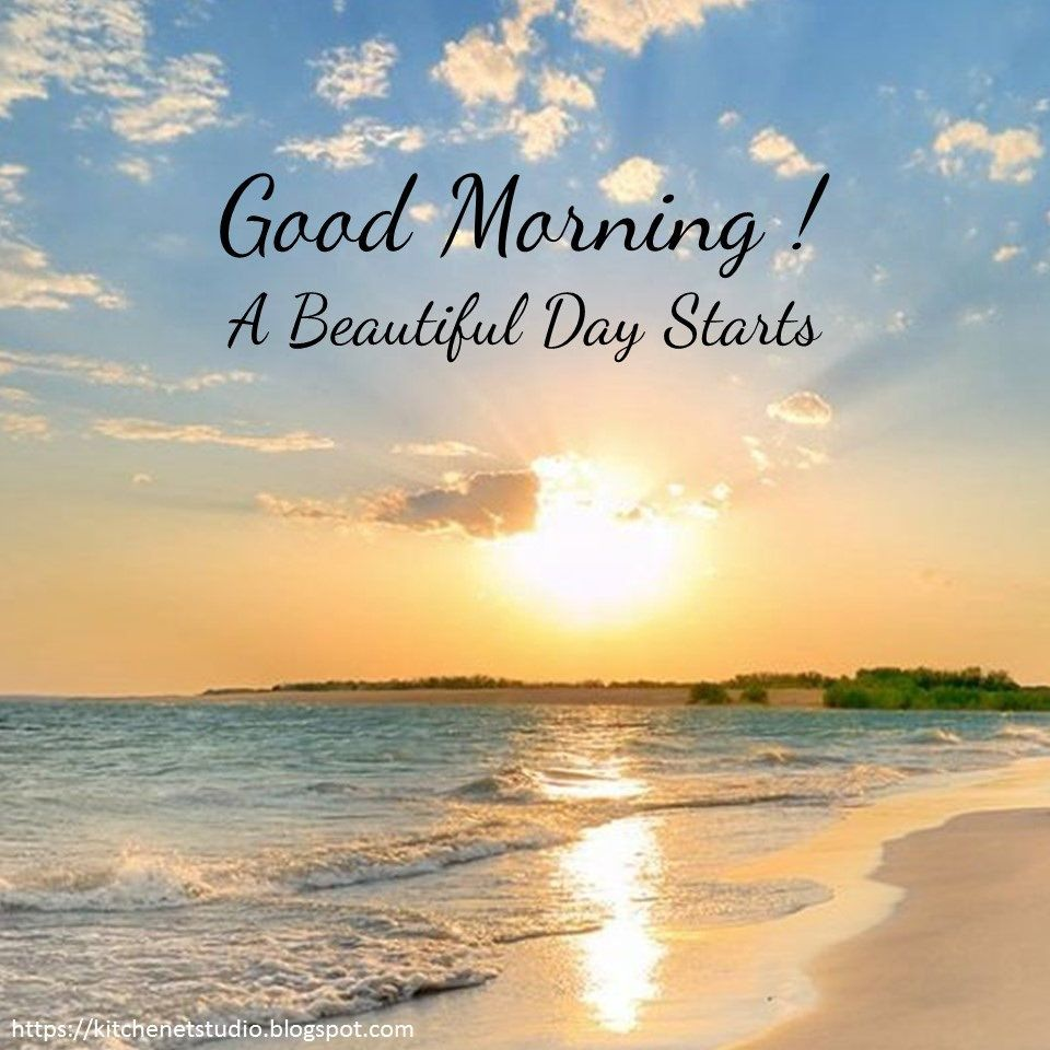 Good Morning 013 Good morning nature, Good morning