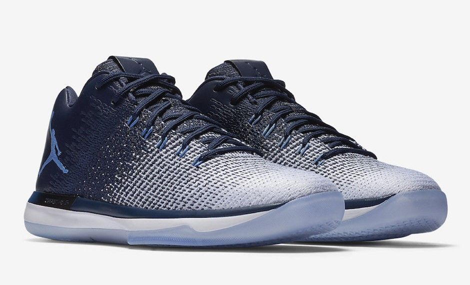 b8e5f48dc28b Air Jordan 31 Low Midnight Navy Inspired by Michael Jordan s years with the  university of North Carolina