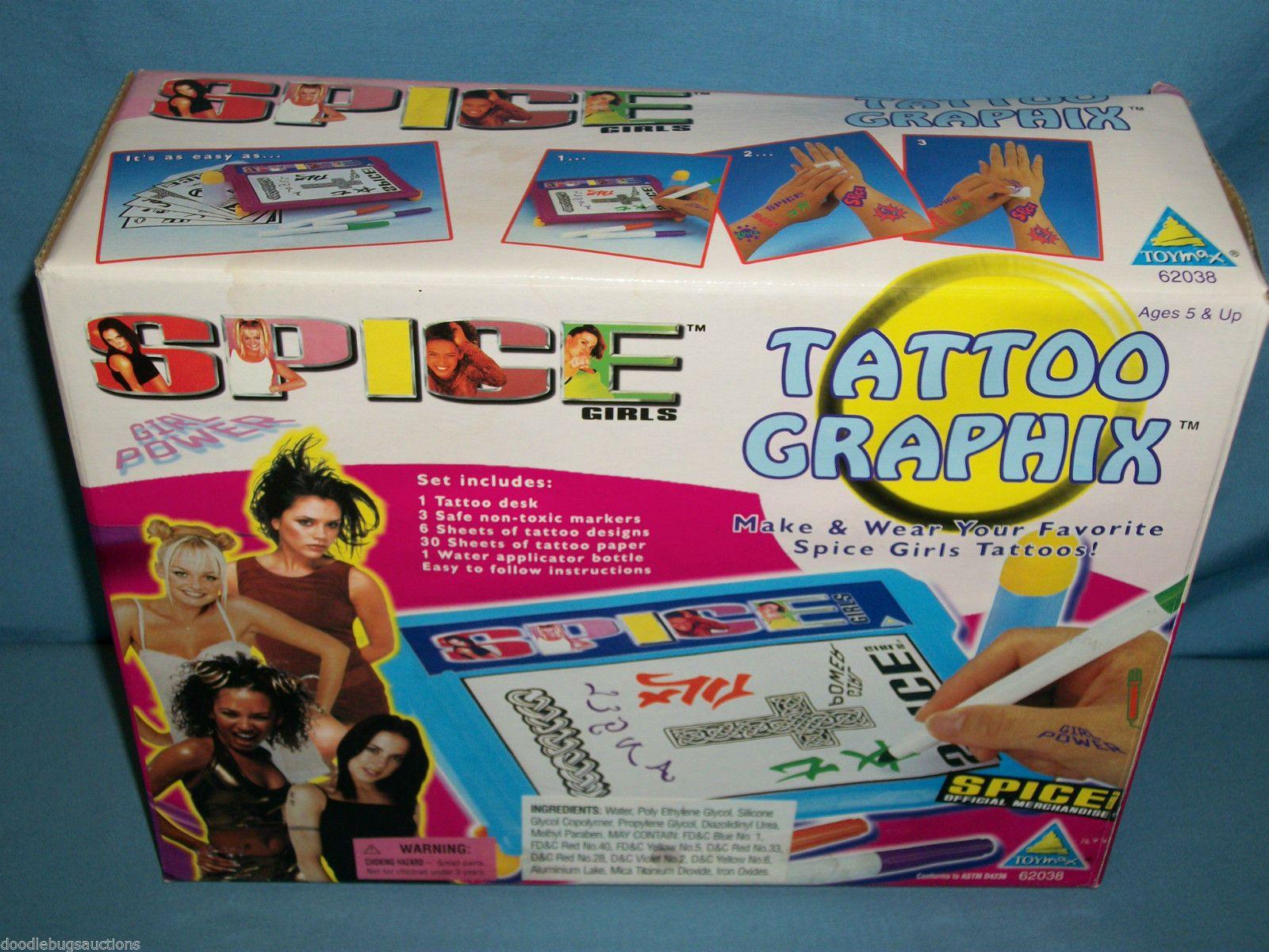 Spice Girls Tattoo Graphix