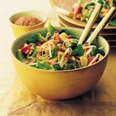 Oriental Broccoli Salad (260 Calories)