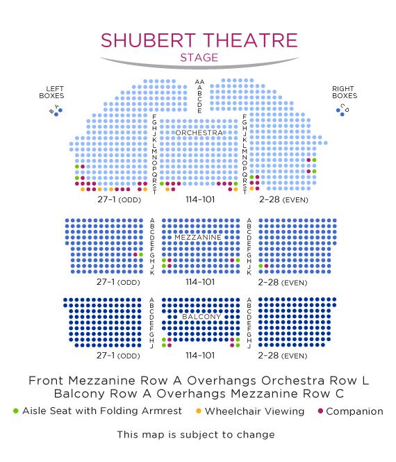 Shubert Theatre New York Broadway