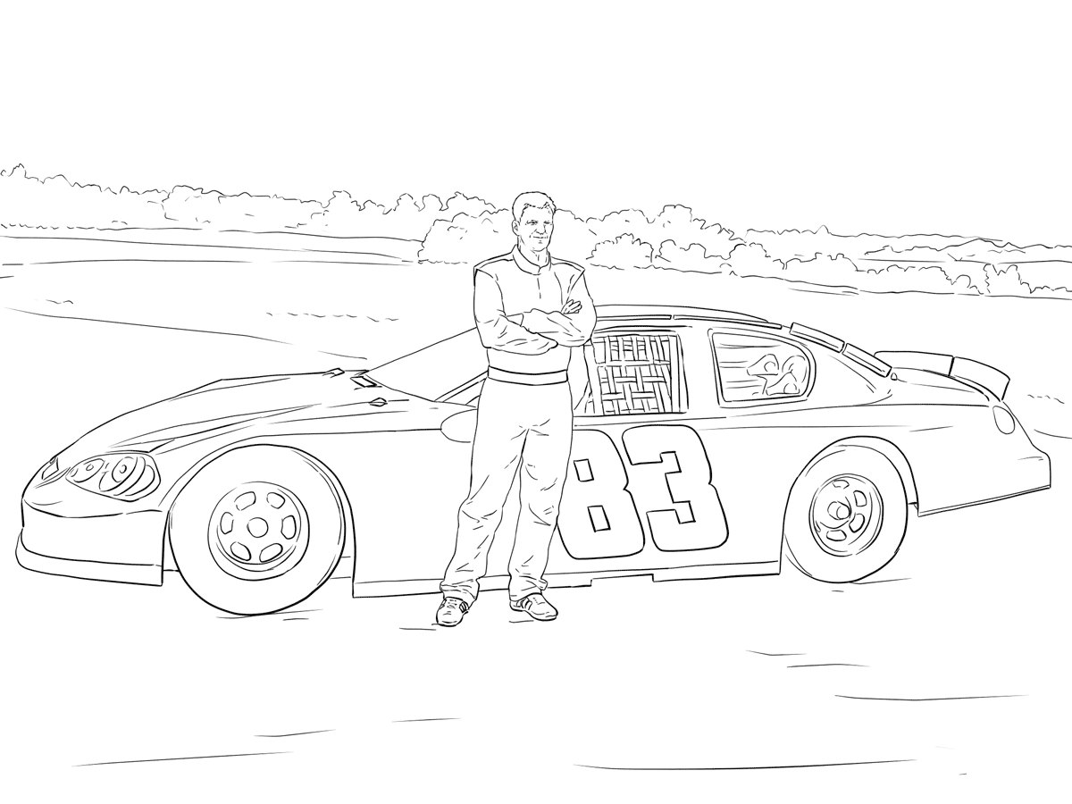 Nascar Coloring Pages Worksheet School In 2020 Cars Coloring Pages Coloring Pages Race Car Coloring Pages