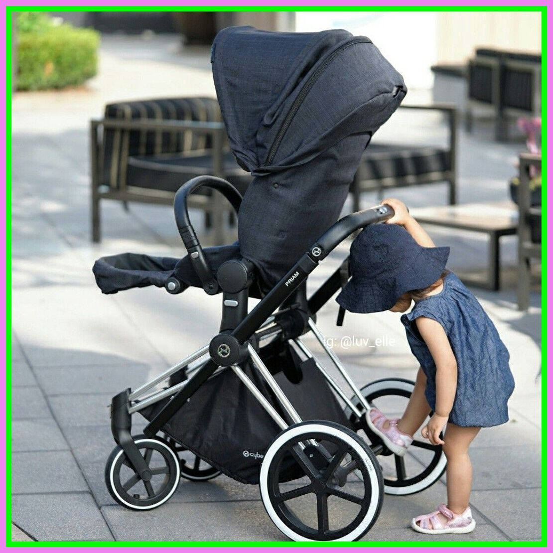 90 reference of stroller Rose Gold manhattan grey in 2020