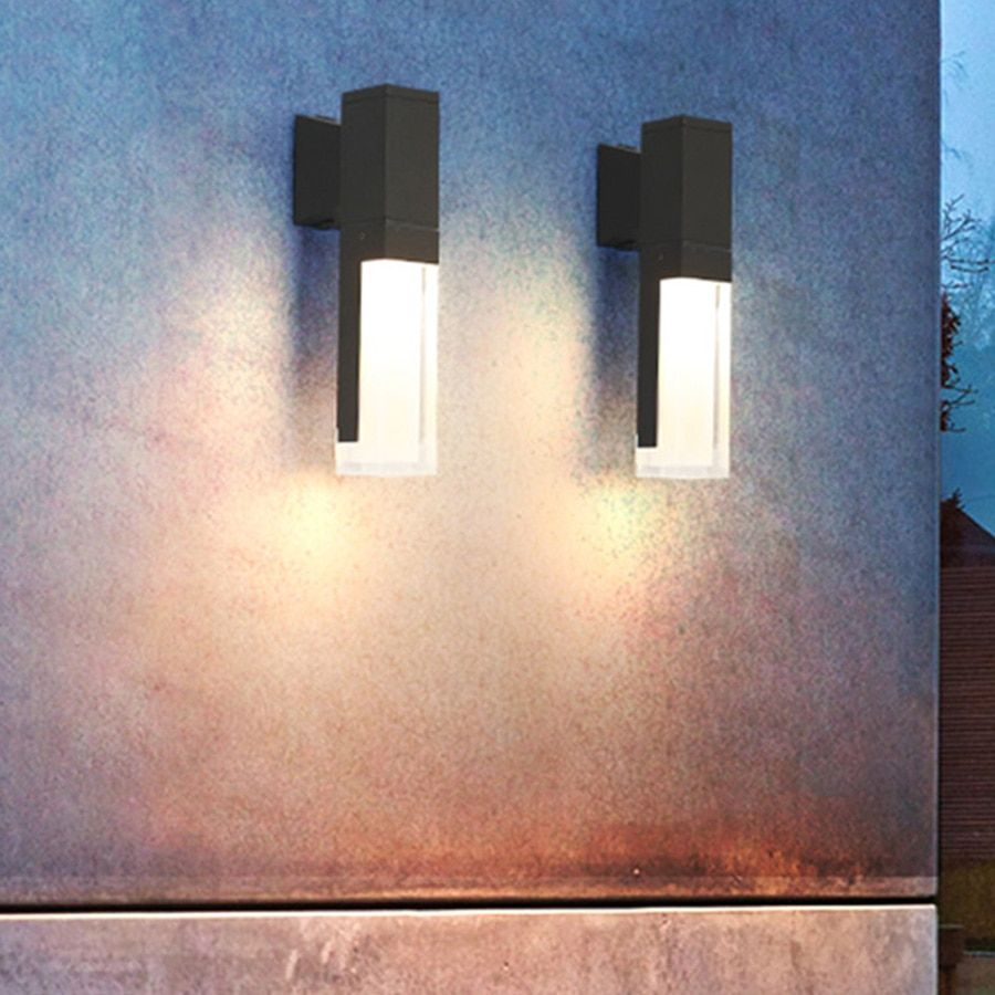 Beiaidi Outdoor Waterproof Led Wall Light Pir Human Body Motion