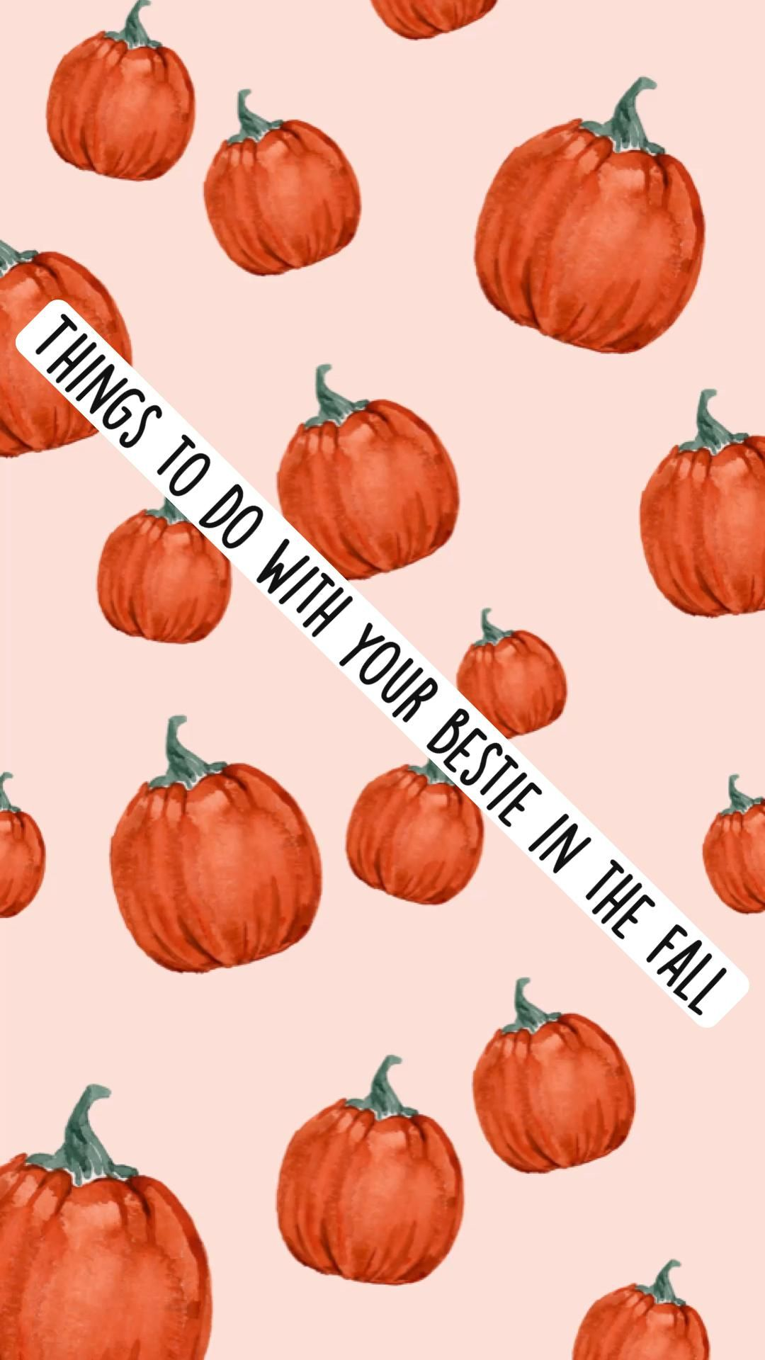 Things to do with your bestie in the fall