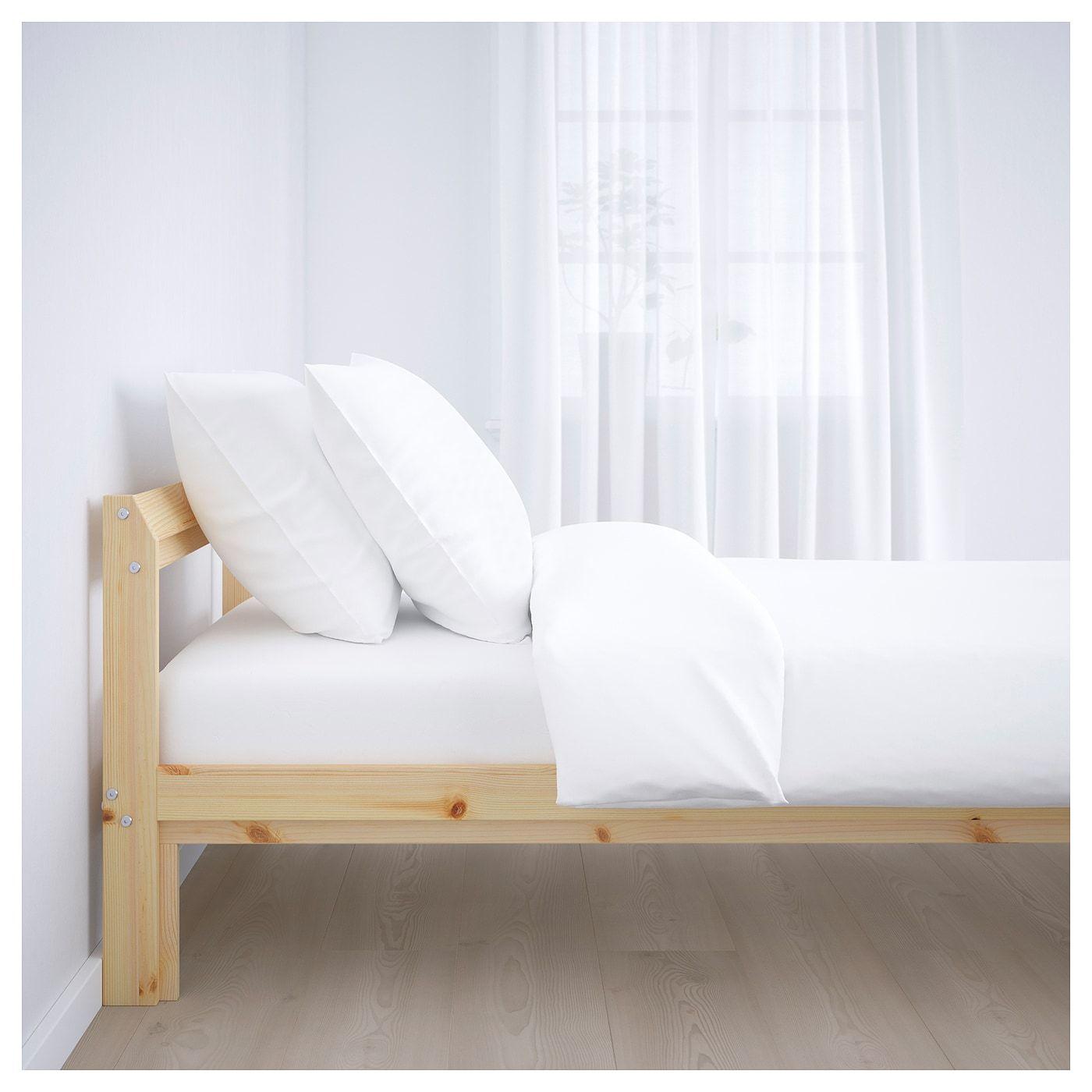 Neiden Bedframe Grenen 90x200 Cm Ikea Bed Frame Pine Bed Frame Ikea Bed