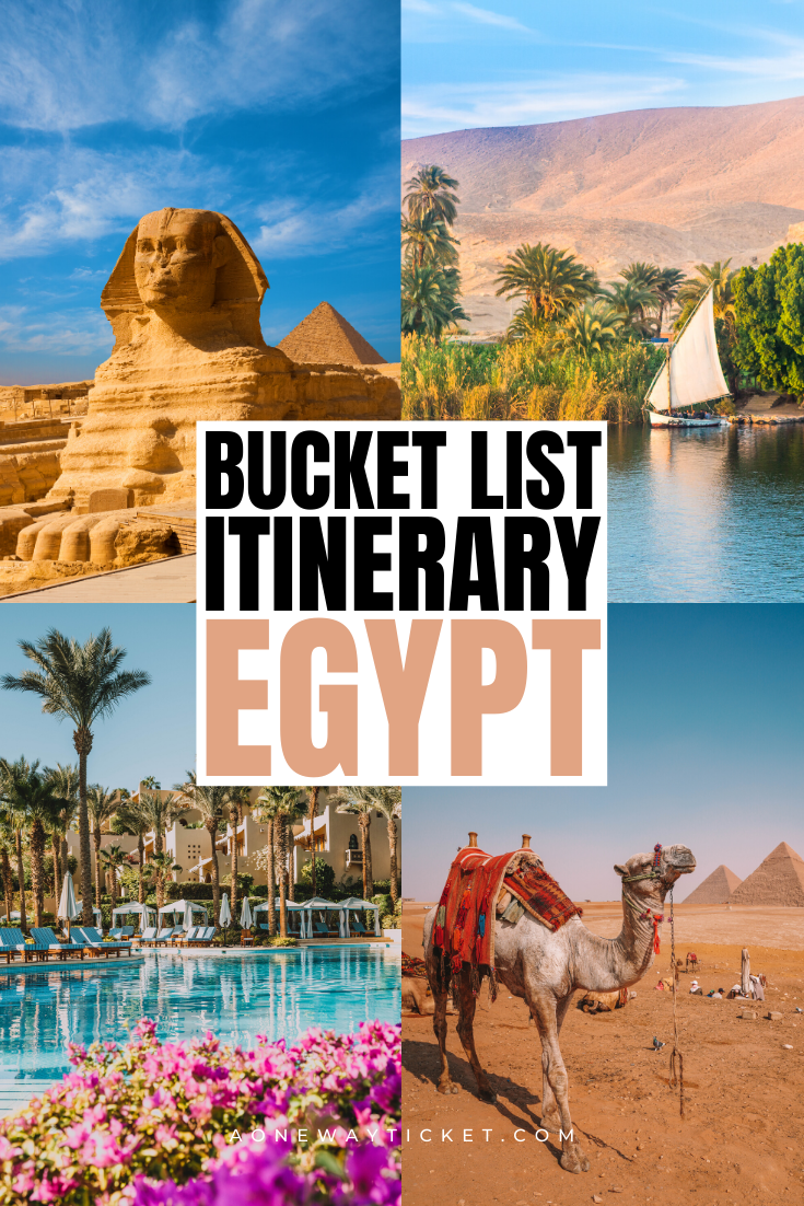 The Perfect Bucket List Egypt Itinerary | A One Wa