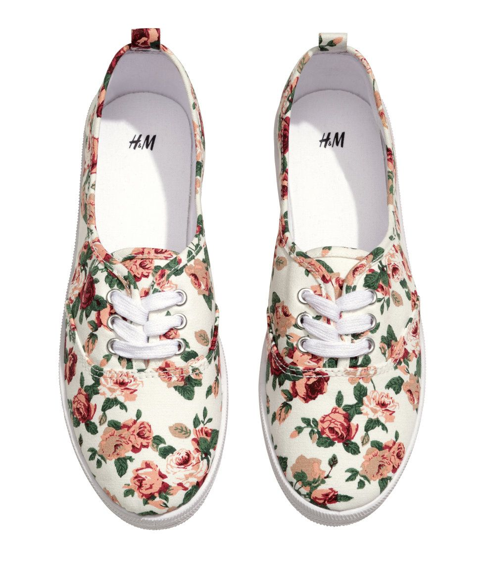 Floral sneakers, Sneakers, Shoes