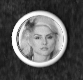 B&W of Debbie from the Parallel Lines phootshoot, 25mm from The Good, The Badge & The Ugly