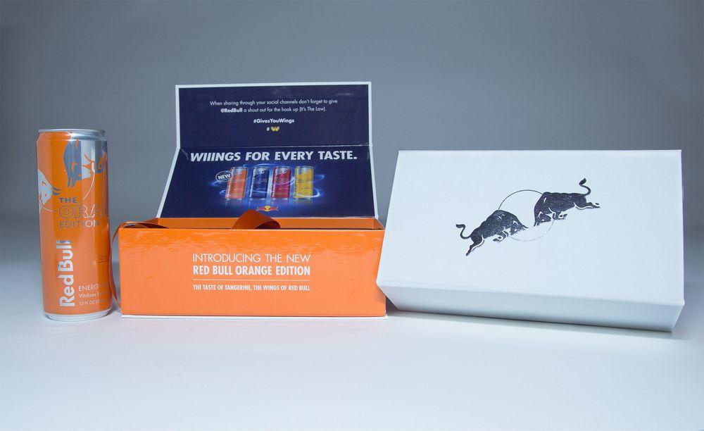 Red bull orange edition influencer kits kit carmack for Interior design kit