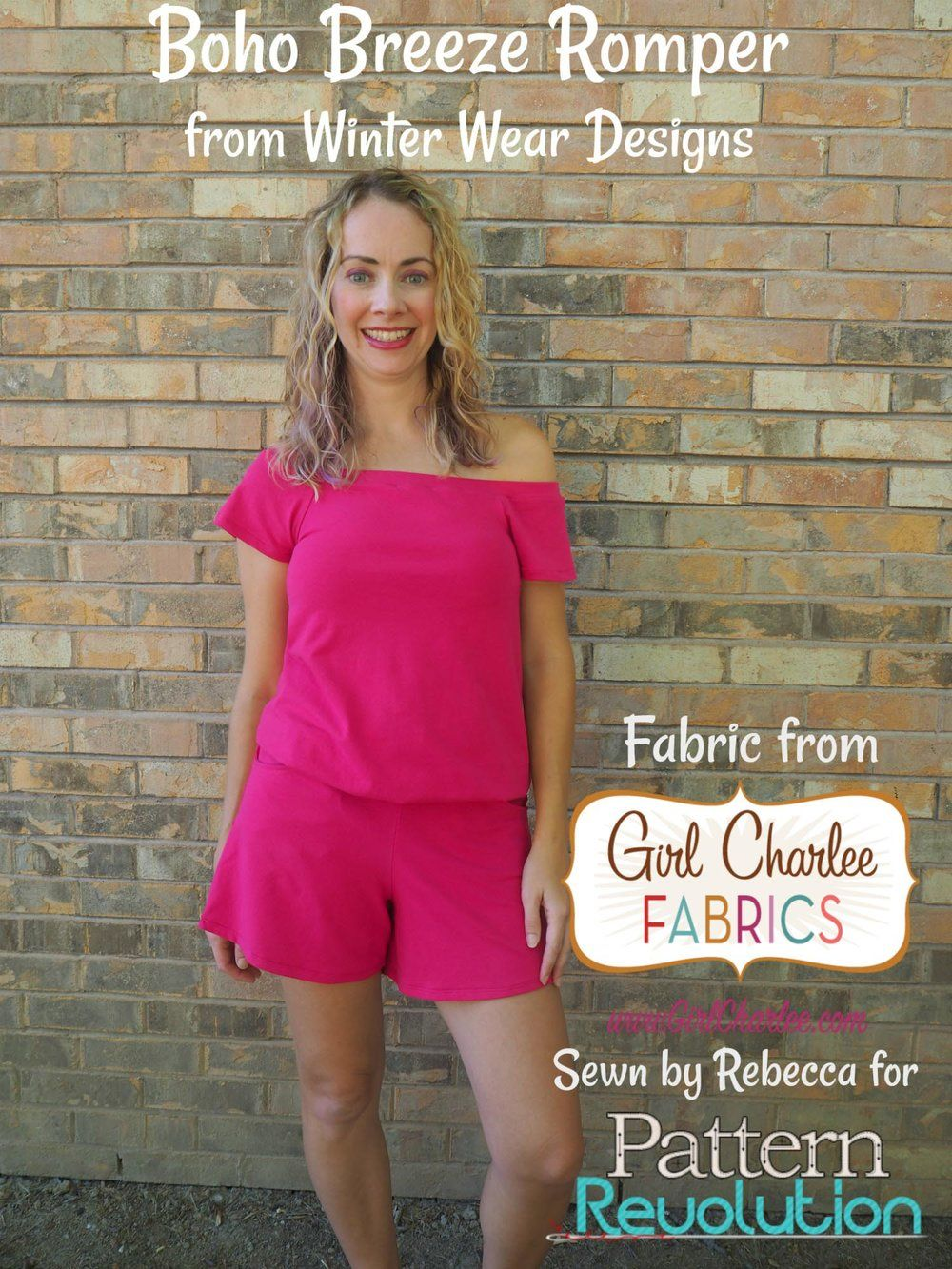 Summer Selfie Sewing: Boho Breeze Romper by Winter Wear Designs and ...