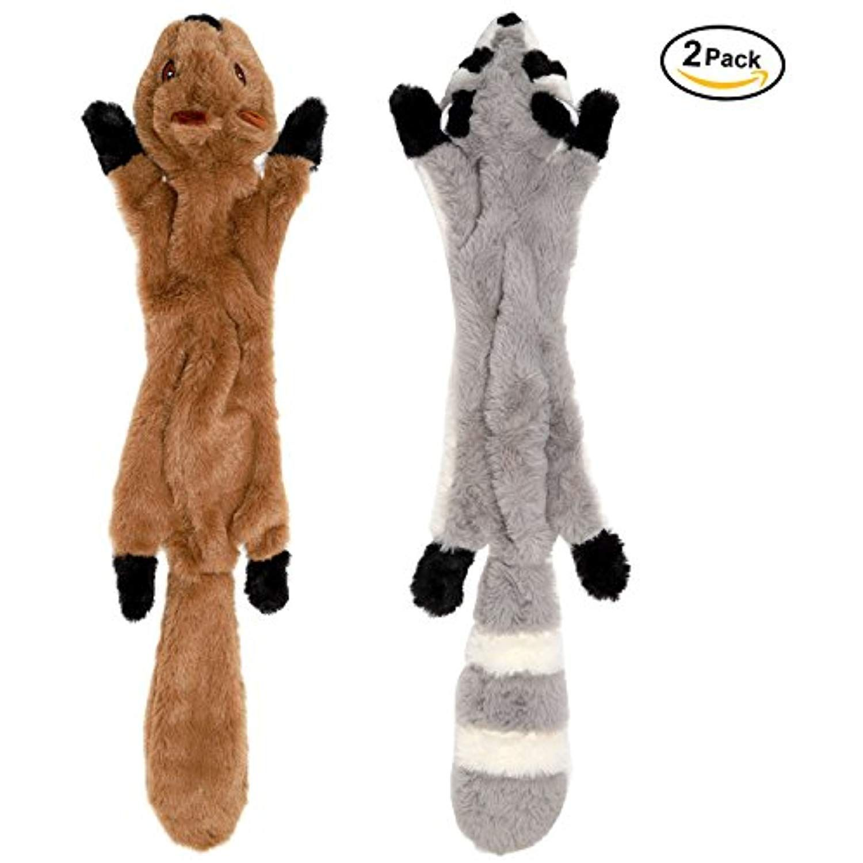 Lovekong Stuffingless Dog Toys Stuffing Free Dog Chew Toys Set