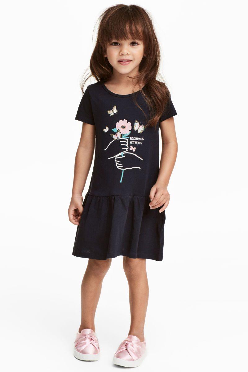 ddd8bc3db Short-sleeved Jersey Dress
