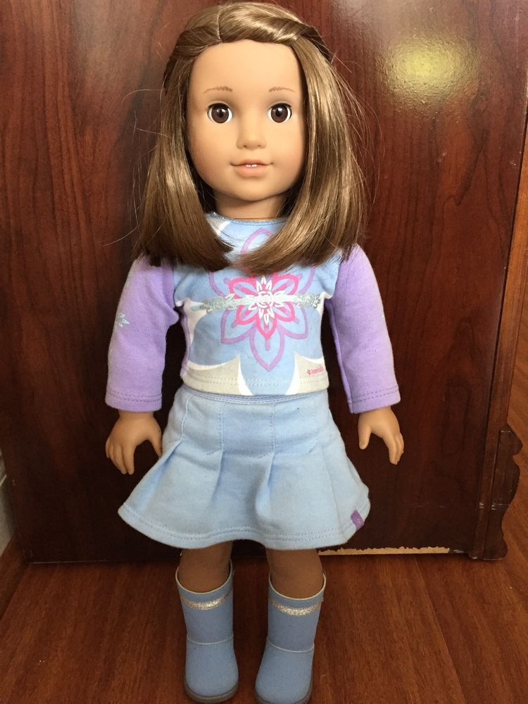 American Girl Doll Just Like Me Doll Short Brown Hair Brown Eyes