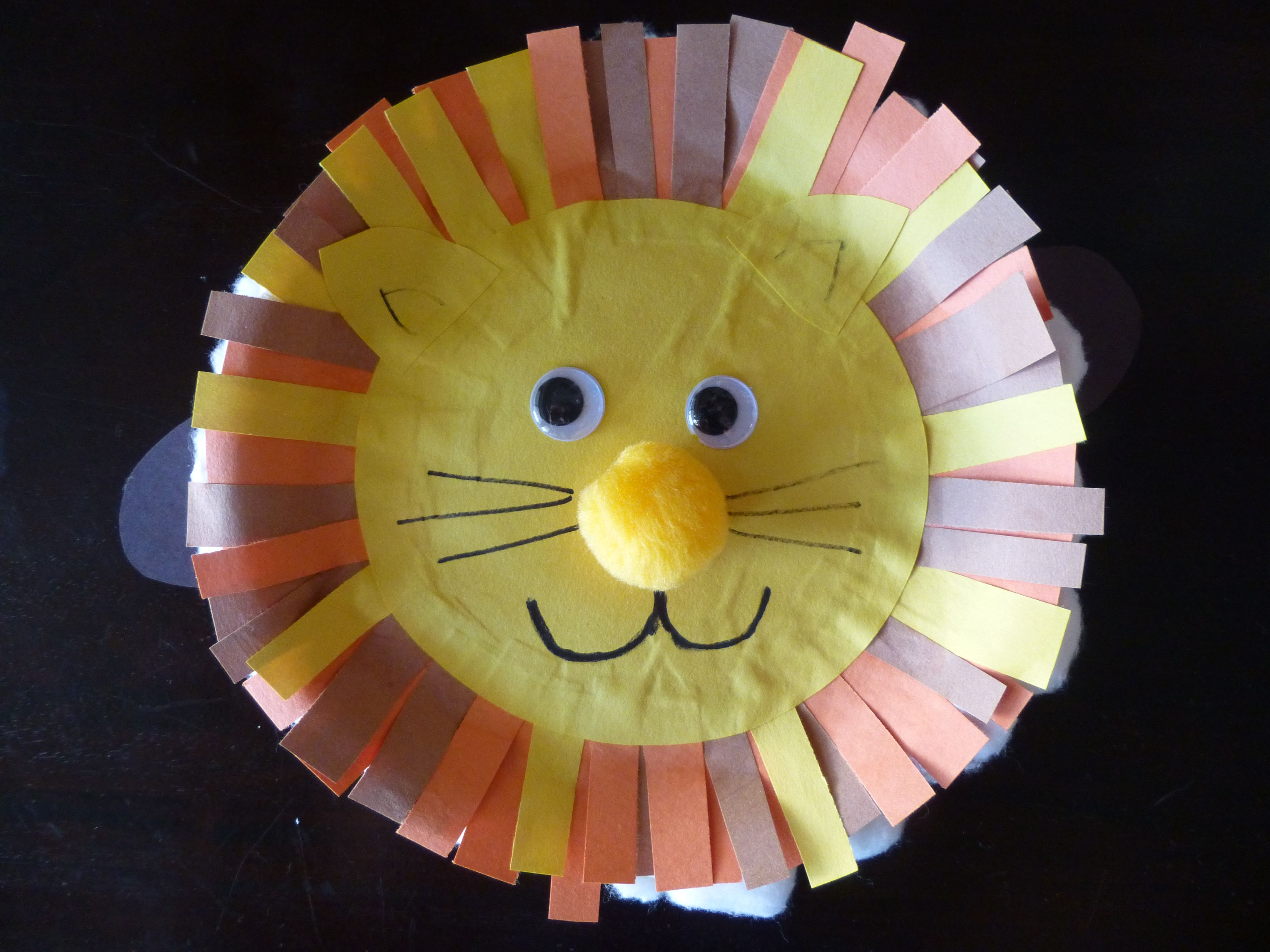 March in like a lion and out like lamb pinteres for march we did this lionlamb paperplate craft to go with the saying in like a lion out like a lamb we did the two animal faces on either side of the jeuxipadfo Images