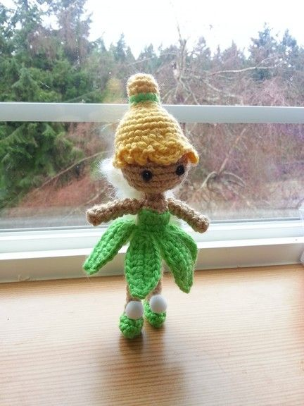 Tinkerbell...my favorite one I've done so far! Pattern by Sahrit