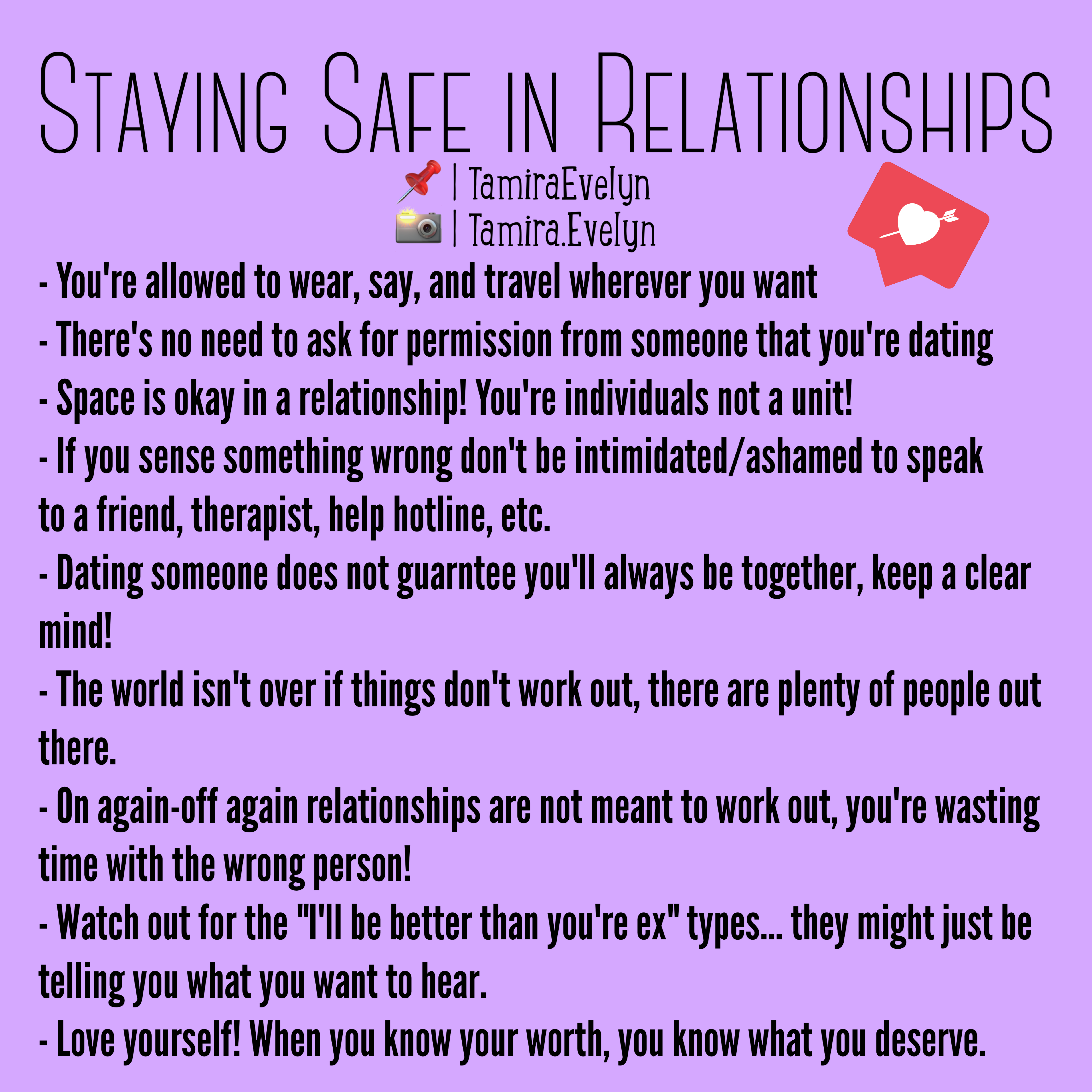 Stay Safe In Relationships Relationship Advice