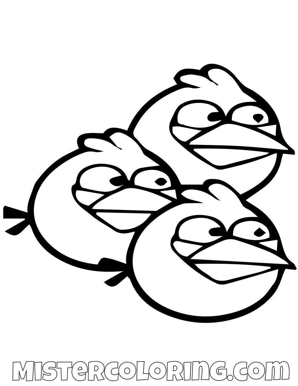 Angry Birds Coloring Sheet The Blues Simple Angry Birds Coloring Pages Bird Coloring Pages Cartoon Coloring Pages Bear Coloring Pages [ 1294 x 1000 Pixel ]