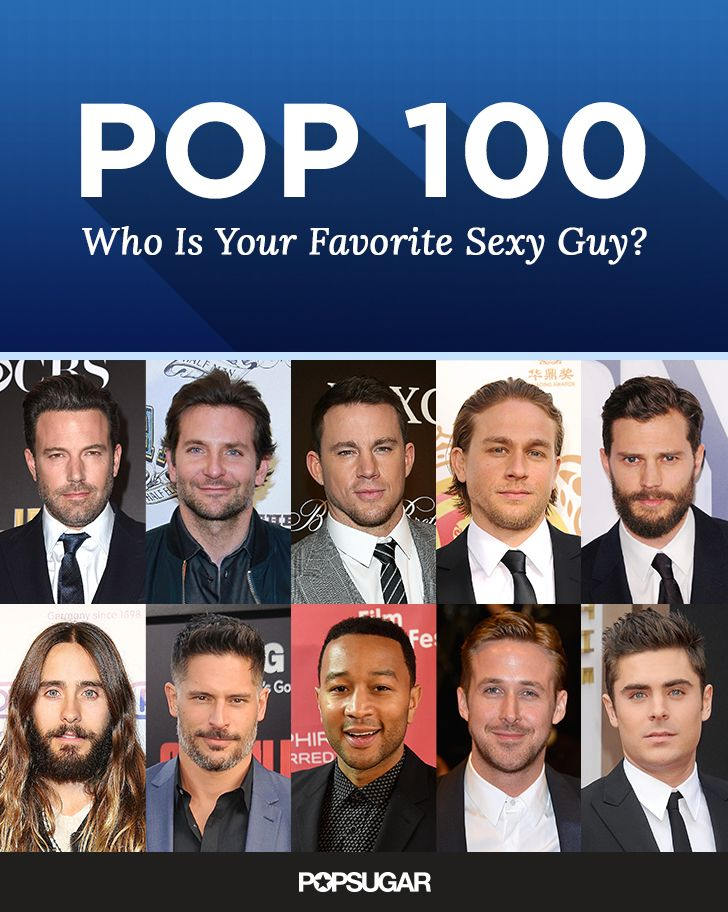 When it comes to steamy men, Charlie Hunnam's muscles have us doing double takes, and Jamie Dornan's piercing eyes speak to our soul. But if you thought there were only two guys in the running for the sexy-man title, think again. See all your choices and VOTE to make your voice heard!