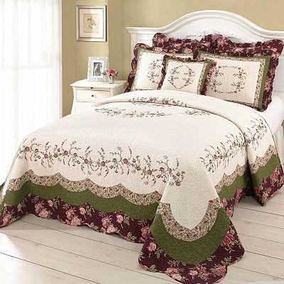 Modern Heirloom Brooke Quilted Bedspread Coordinates My