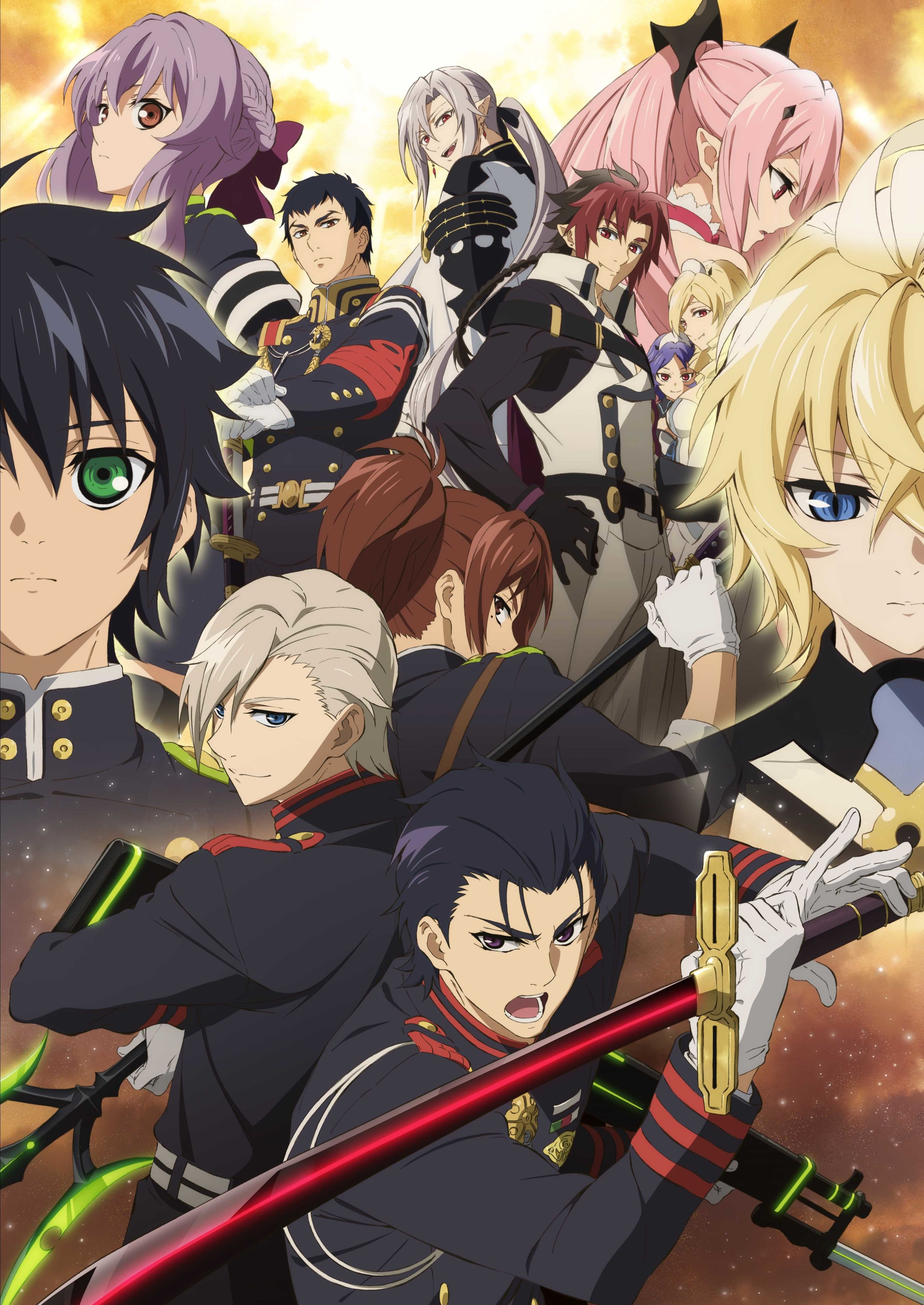 Pin by Jewel on Seraph of the End Fall anime, Seraph of