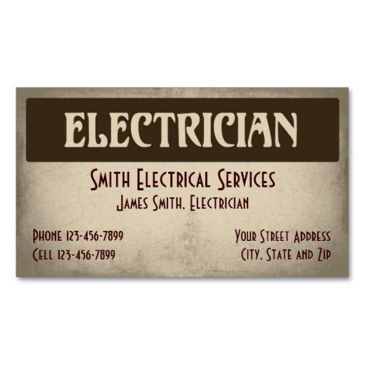 Electrician Business Card Bizcardstudio Co Uk Business Cards Custom Business Cards Construction Business Cards