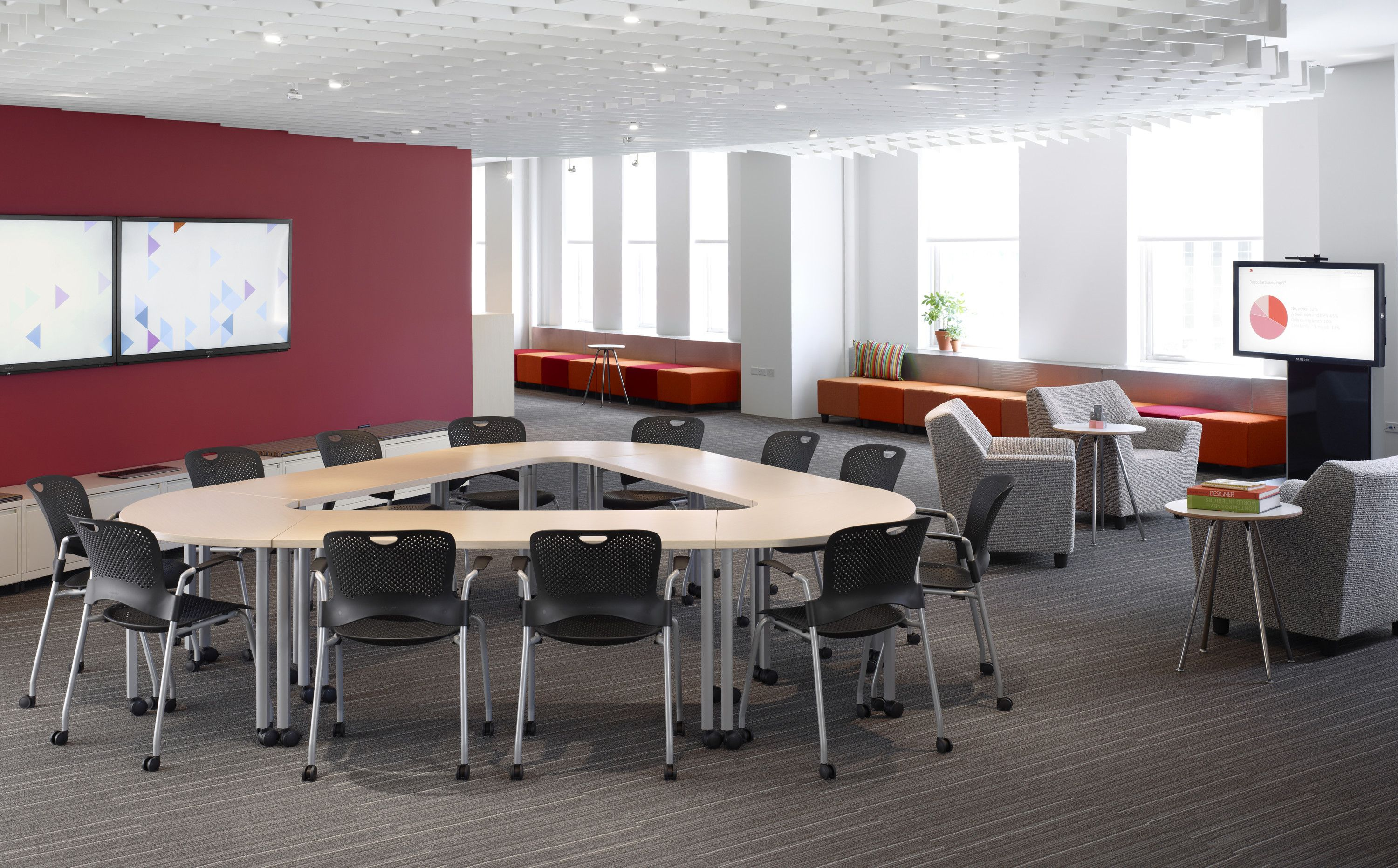 Herman Miller Everywhere Tables   Roundtable Discussion/presentation