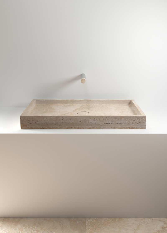 Piletta Per Lavabo Da Appoggio lavabo in pietra   bathroom inspiration, bath design, stone