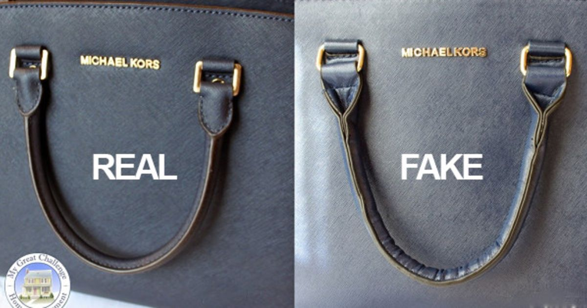 How To Spot A Fake Michael Kors Bag