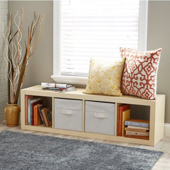 Deal Of The Day This Versatile Cube Organizer For Just 45 Furniture Design Living Room Living Room Wood Home Decor Furniture