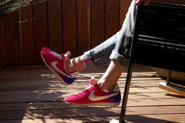 <3 #NIKE #PINK #SNEAKERS #ZAPATILLAS #ROSAS from #otherstories #barcelona #terrace #lemeridien #360suite