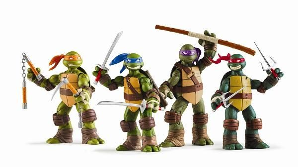 Hey look. Those are heroes in a half-shell. You know? Turtle power.