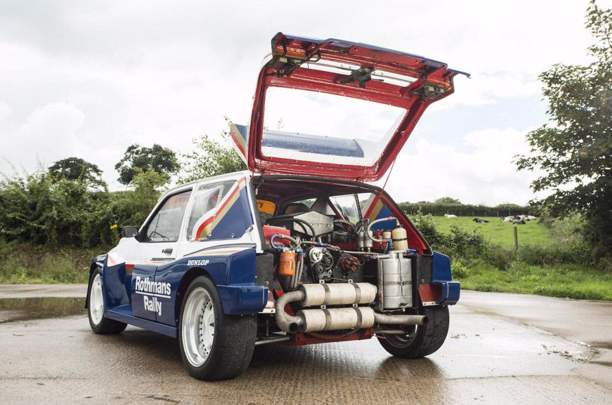 1985 MG Metro 6R4 Group B Rally Car | Driver/Collectors | Pinterest ...