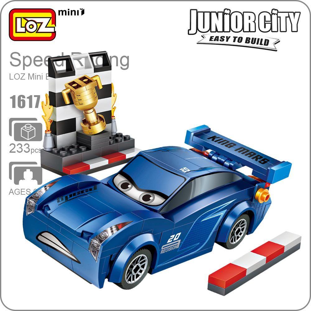 Educational car toys  Click to Buy ucuc LOZ Mini Blocks Assemble Cars Toys Piston Cup