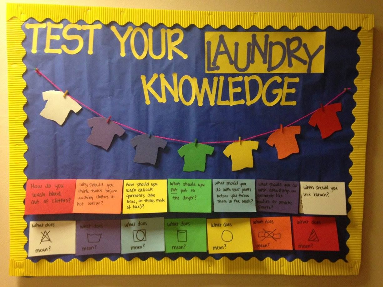 RA series: How to make incredible bulletin boards that WOW your residents #rabulletinboards