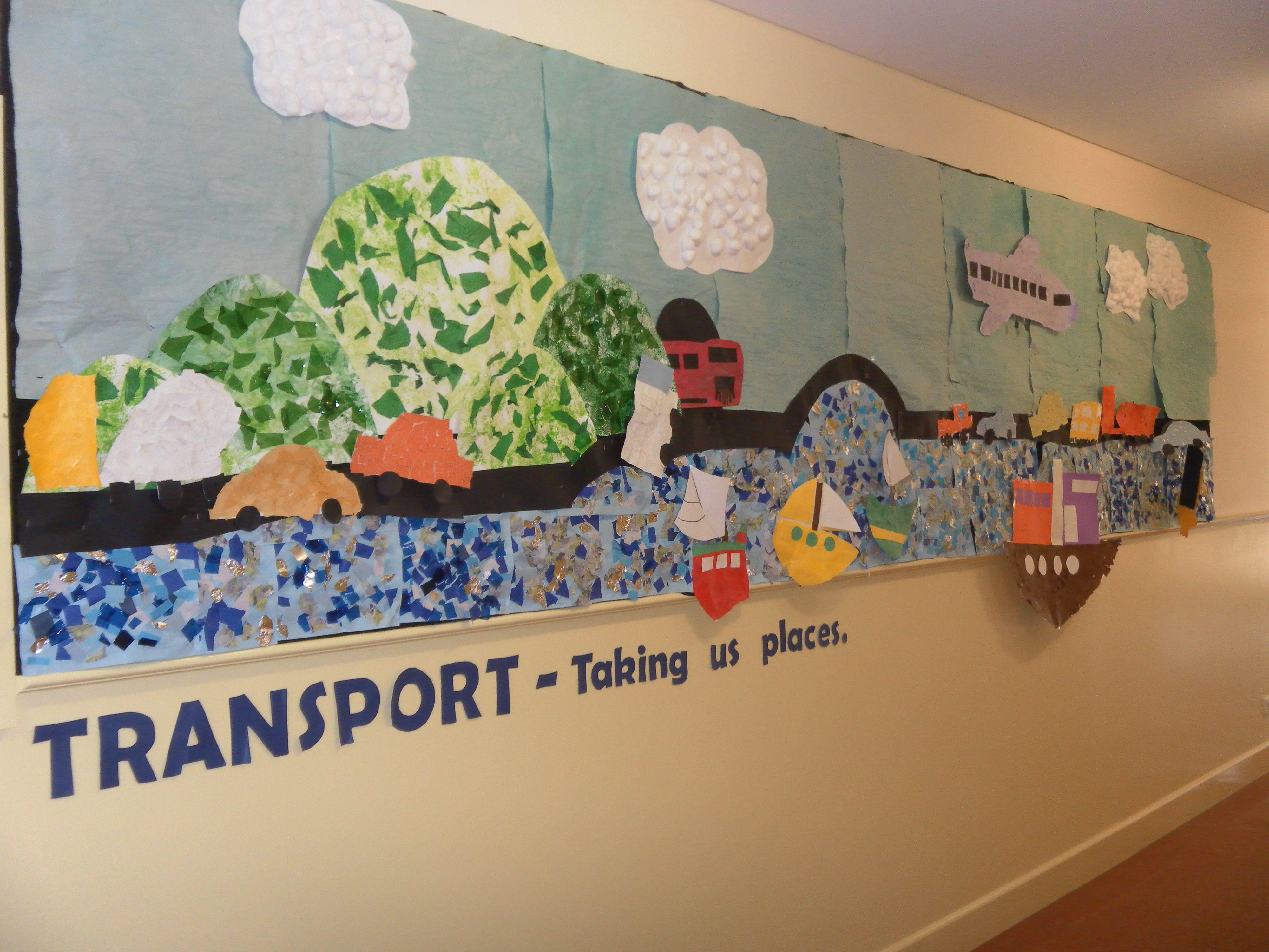 Transport Theme Display