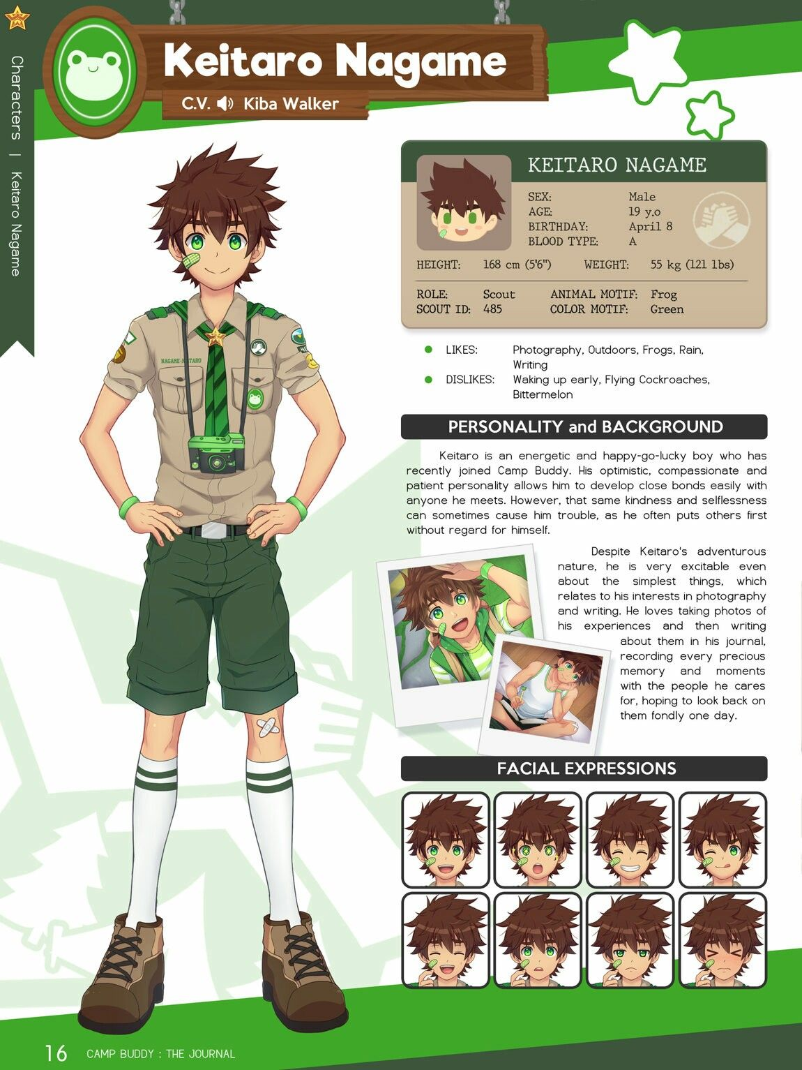 Pin by Lana Chan Anime on Camp Buddy Character Info's in