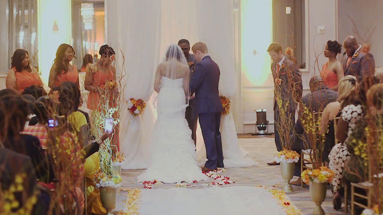 Kevin And Charlotte The Wynfrey Hotel Birmingham Wedding Video Autumn Fall