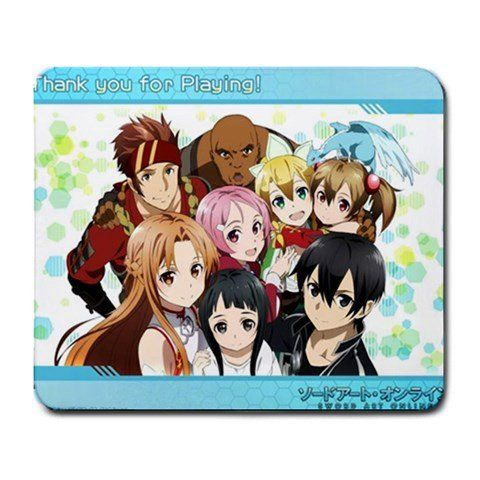 Sword Art Online Anime SAO Funny & Cute Rectangle Mouse Pad Joie 23