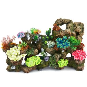 Top Fin Stone Coral Bubbler Aquarium Ornament Aquarium Ornaments Aquarium Decorations Fish Tank Decorations