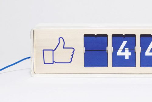 "Fliike"" Real-Time Facebook Like Counter By Smiirl"